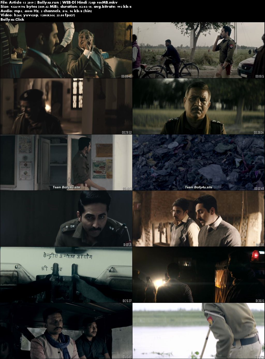 Article 15 2019 WEB-DL 300Mb Full Hindi Movie Download 480p