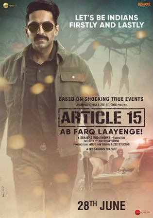 Article 15 2019 WEB-DL 300Mb Full Hindi Movie Download 480p Watch Online Free bolly4u