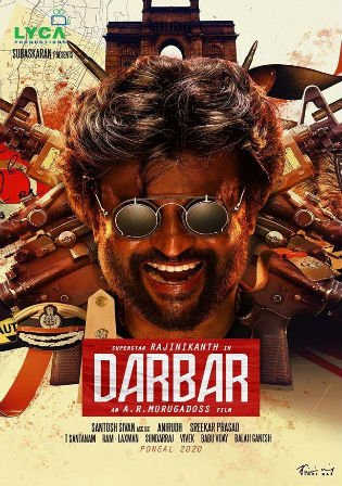 Darbar 2020 Pre DVDRip 400MB Full Hindi Movie Download 480p Watch Online Free bolly4u