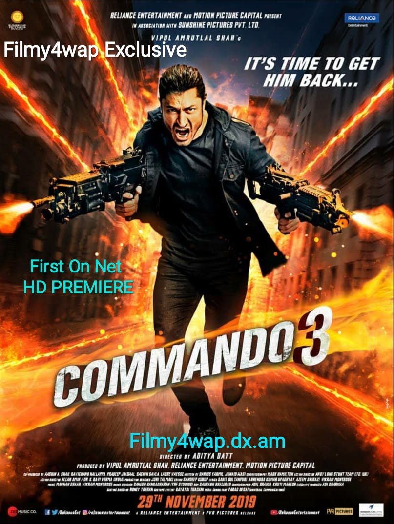 Commando 3 full movie WEBDL filmy4wap