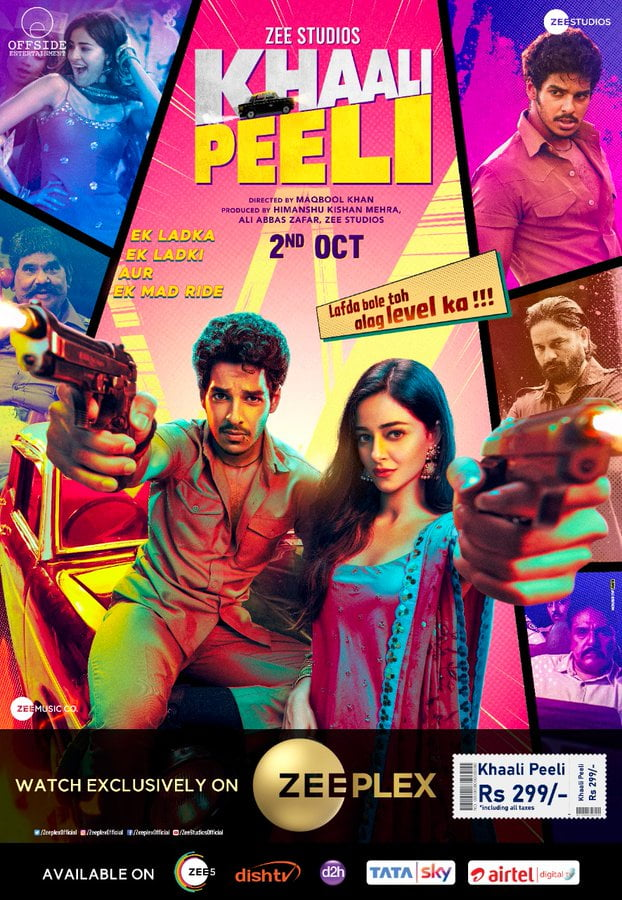 Khaali Peeli 2020 Hindi 720p HDRip 800MB ESub