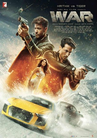 War 2019 WEB-DL 400MB Full Hindi Movie Download 480p Watch Online Free bolly4u