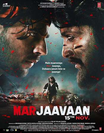 Marjaavaan 2019 Full English Movie 720p 480p Download