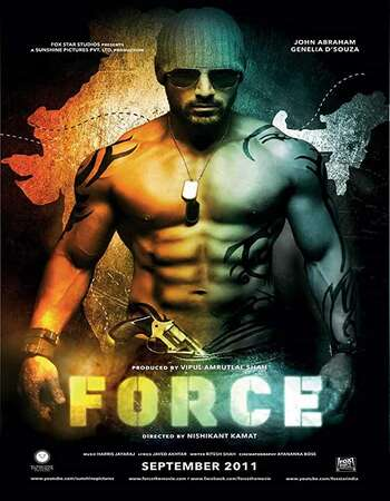 Force (2011) Hindi 720p WEB-DL x264 1.1GB Full Movie Download