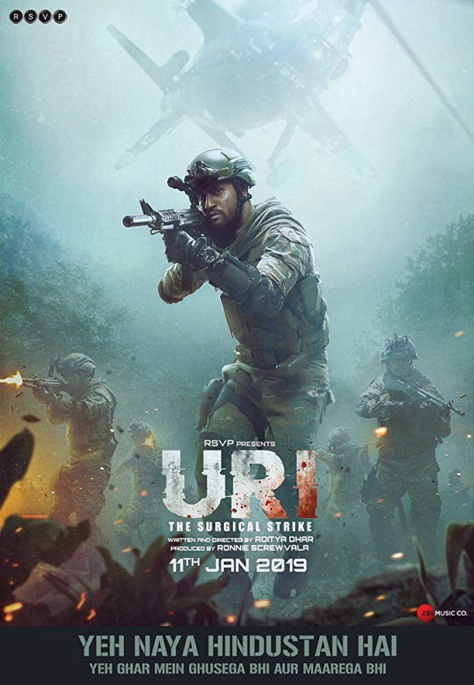 uri the surgical strike 480p