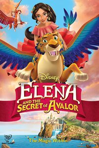 Download Elena and the Secret of Avalor (2016) Full Movie In Hindi (Dual Audio) 480p [300MB]