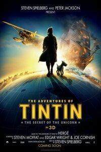 Download The Adventures of Tintin (2011) Full Movie In Hindi 480p [300MB]