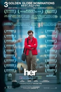 Download Her (2013) Full Movie In Hindi (Dual Audio) 720p [1GB] | 480p [400MB]
