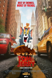 Download Tom and Jerry (2021) Full Movie In Hindi (HD-Cam) 720p [950MB] | 480p [300MB]