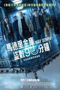 Download The Vault (Way Down) (2021) Full Movie In (Hindi Dubbed) 720p [1.8GB]   480p [400MB] MelbetCinema
